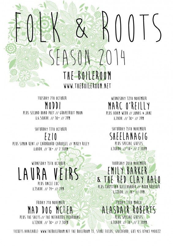Folk & Roots Poster 2014