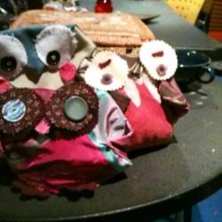 Handmade Owl Doorstops