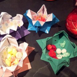 Origami Boxes and Homemade Sweets