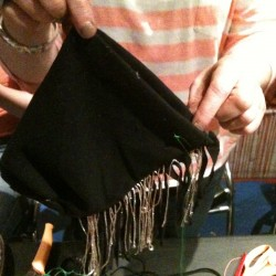 Fringed Coin Bag