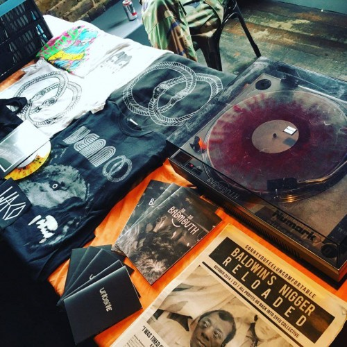Venn Records stall